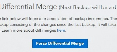Learn the big secret of differential merge for Datto SIRIS