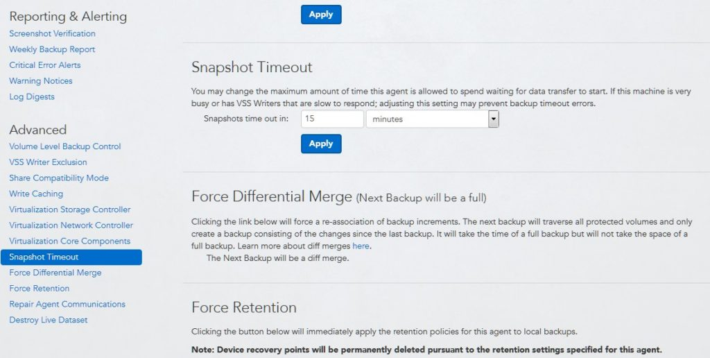 datto siris force differential merge