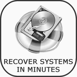 Recovers Failed Systems in Minutes
