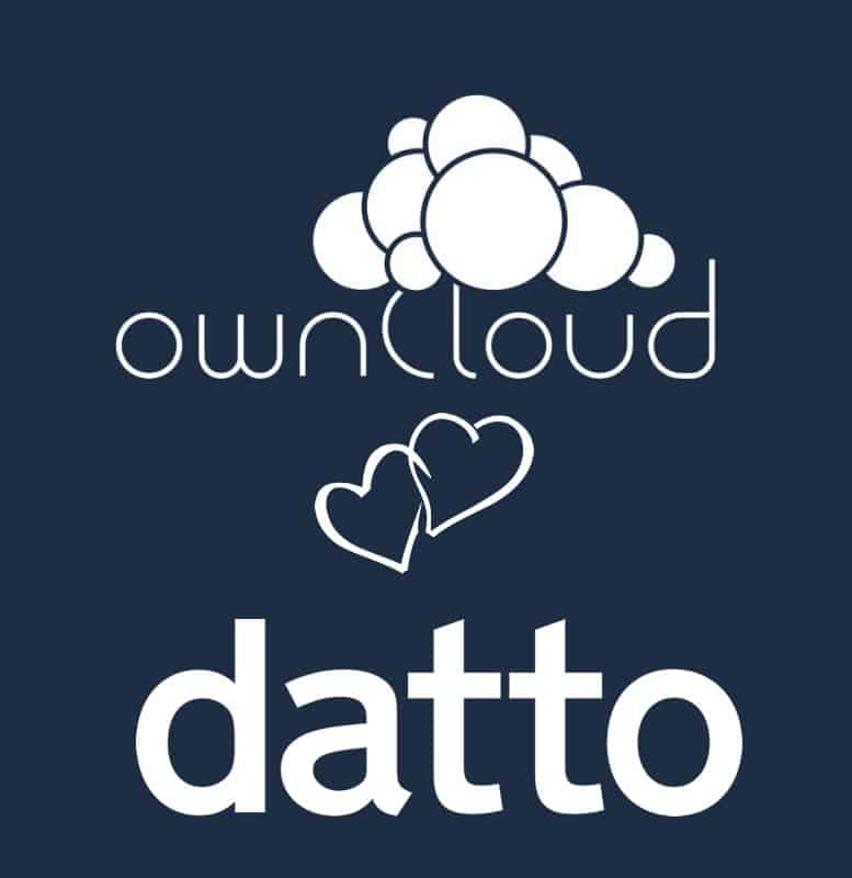 Important 1, 2, 3's of the Datto ownCloud partnership