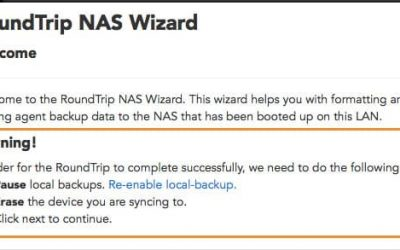 Master a NAS Roundtrip for Datto SIRIS in simple 12 steps