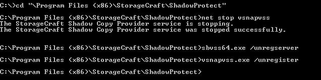 using shadowprotect