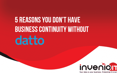 5 big reasons you can't have business continuity without Datto