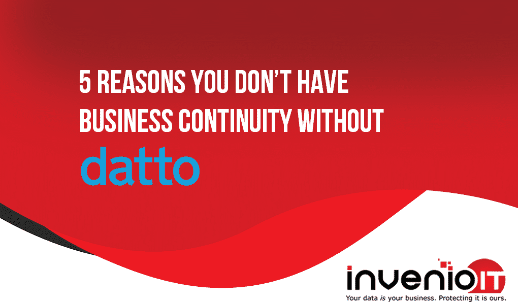 business continuity without Datto