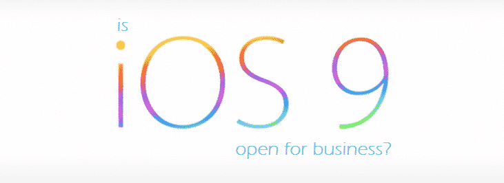 iOS 9 and business continuity