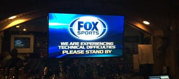 technical difficulties during the World Series