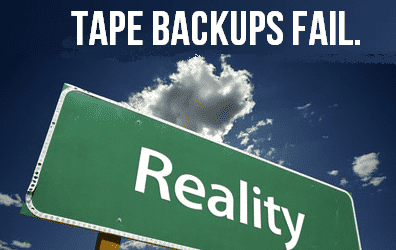 Lesson for the Day: Why Tape Backups Suck