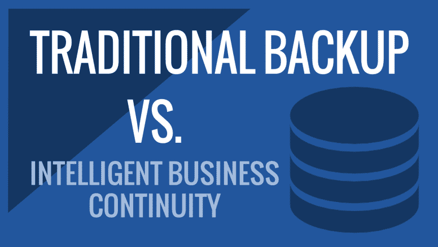business continuity vs backup