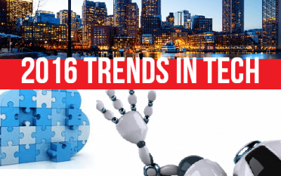3 Top Tech Trends of 2016 to Watch Now