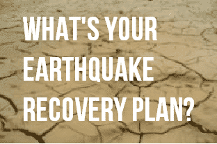 earthquake recovery plan