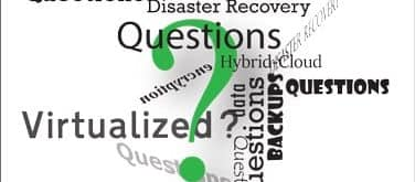 Backup and Disaster Recovery Vendor