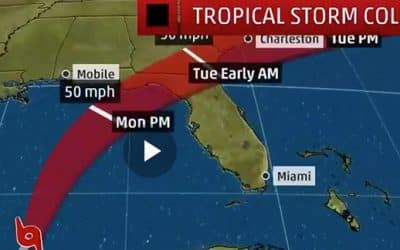 Tropical Storm Colin hits today & it's deadly for business