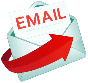 email logo red
