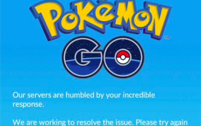 Oh the Tragedy, the Unreliable Pokemon Servers are Down!