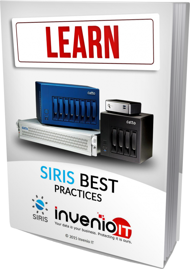 datto siris best practices ebook