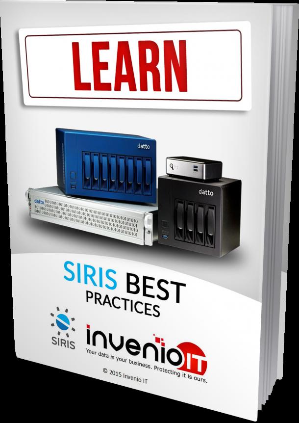 datto siris best practices ebook