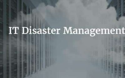 What Is Disaster Recovery Management, Exactly?