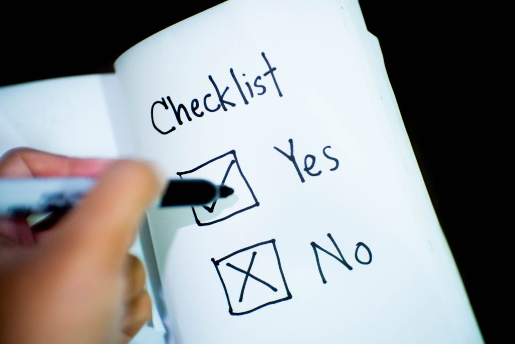 Checklist for Disaster Recovery Plans