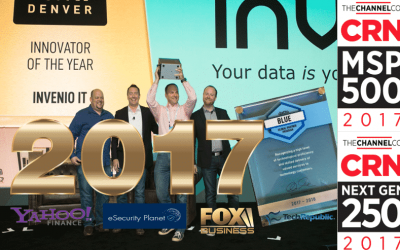 2017 was a big year for business continuity and Invenio IT
