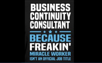 Read this Before You Hire Business Continuity Consultants