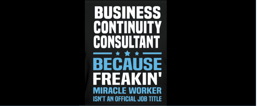 business continuity consultants