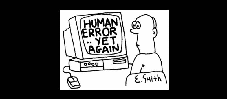 data loss from human error